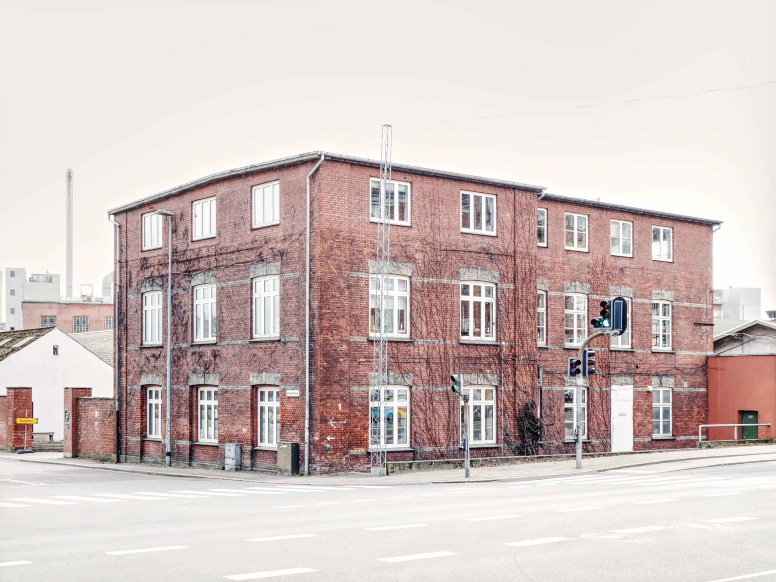 Gang i det gamle rådhus i Viborg