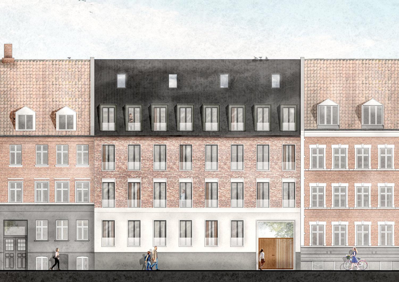 Den gamle byrådssal i det gamle rådhus i Viborg